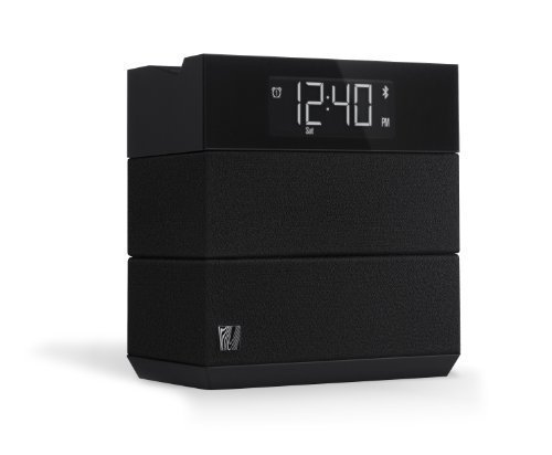Soundfreaq Sound Rise Black (SFQ-08) Wireless Bluetooth Speaker + Alarm Clock with FM Radio and USB Charger