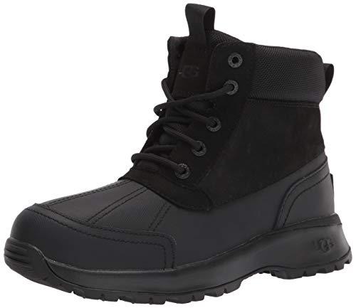UGG Men's Emmett Duck Boot Snow, Black, 11
