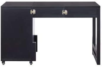 Laptop half Don't miss the campaign Study Writing Table Desk Compact Black Reversible Gami in