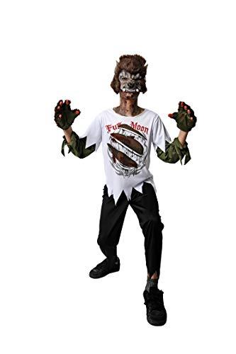 Costumizate! Disfraz de Hombre Lobo para niños Talla 3 o 4 años Halloween