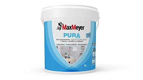 MaxMeyer Pittura per interni Anti-inquinamento Pura Active BIANCO 4 L