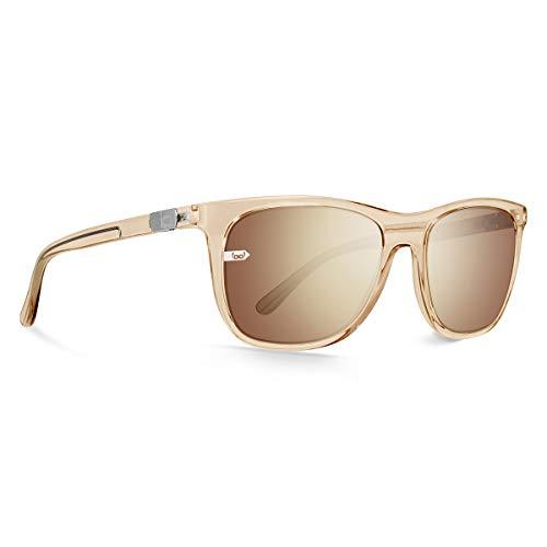 gloryfy unbreakable eyewear Unisex-Erwachsene Gi27 Hitchhiker Gold Sonnenbrille, Goldfarben