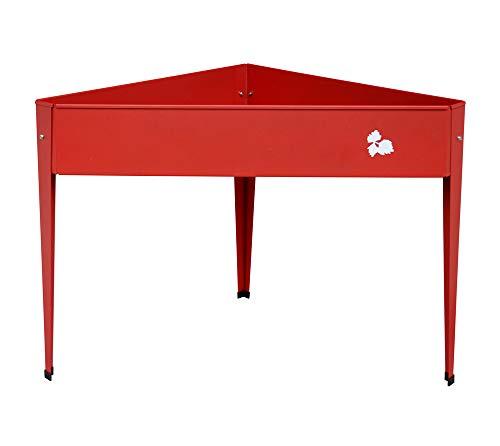 Herstera Garden 08924601–Anbau-Tisch, 70x 70x 80cm, rot