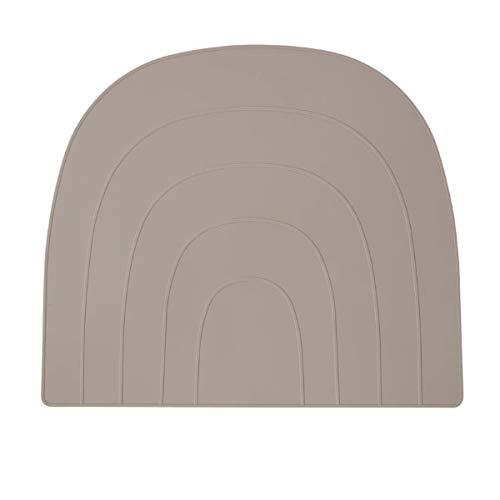 OYOY - Rainbow - Placemat / Tischset / Platzset - Clay - Silikon - 34 x 41 x 0,2cm