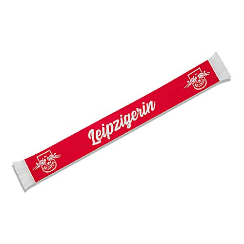 RB Leipzig Leipzigerin Schal Fanschal Scarf (one Size, rot)