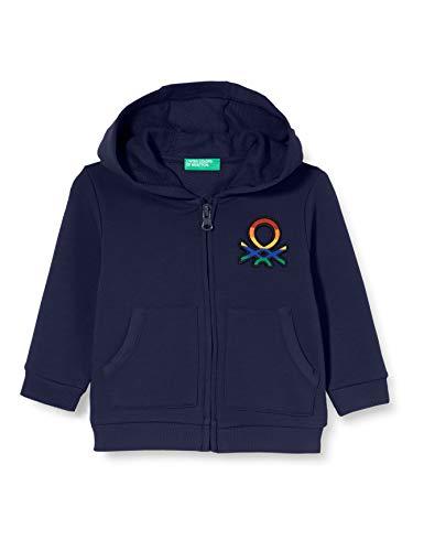 United Colors of Benetton (Z6ERJ) Jungen Giacca C/CAPP M/L Pullover, Peacoat 252, 104 cm
