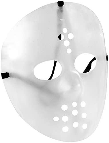 infactory Déguisement Masque de Hockey - Phosphorescent