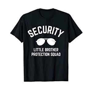 Security Brother Protection Squad T-Shirt - Boys Toddler