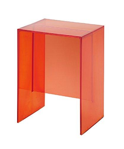 Kartell Max-Beam, Plastik, orange Dark, 27 x 47 x 33 cm