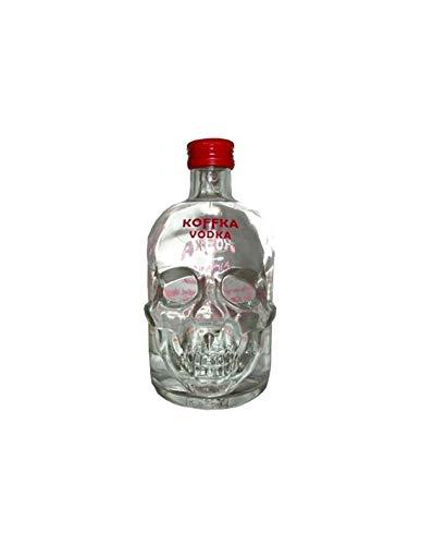 Koffka Wodka Totenkopf-Flasche