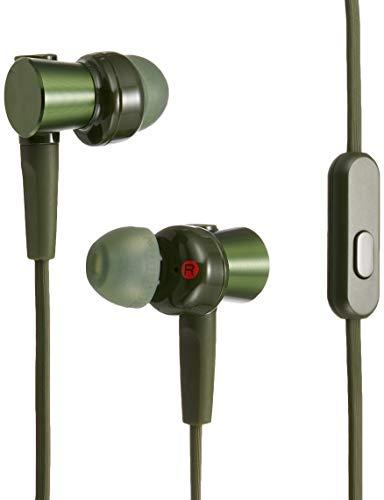 ソニー イヤホン 重低音モデル MDR-XB75AP : カナル型 リモコン・マイク付き グリーン …