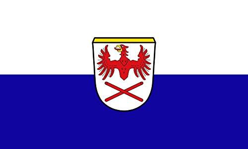 Unbekannt magFlags Tisch-Fahne/Tisch-Flagge: Hausham 15x25cm inkl. Tisch-Ständer