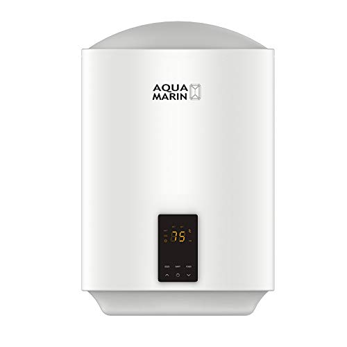 Aquamarin® Elektro Warmwasserspeicher - 30/50/80/100 L, 2 kW, Wandhängend, Smart, EEK A/B, emaillierter Innenbehälter - Boiler, Warmwasserboiler, Elektrospeicher, Heizung, Speicher (30 L)