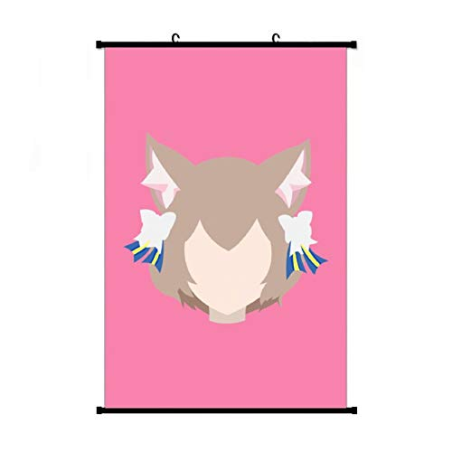 Anime & Felix Argyle (Re Zero Kara Hajimeru Isekai Seikatsu) Classic Anime Living Room Bedroom Home Decoration Gift Fabric Wall Scroll Poster (16x24) Inches