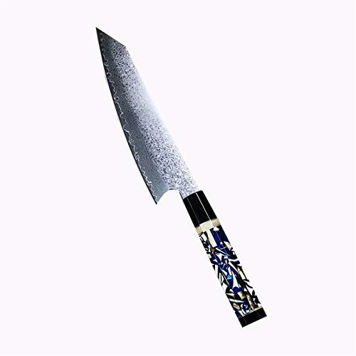 Juego de cuchillos Cuchillo de cocinero 67 Las capas japonesa Damasco acero de Damasco del cuchillo del cocinero de 8 pulgadas de Damasco cuchillo de cocina Mammoth resina moldeada ( Size : 8 inch )