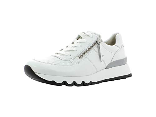 Paul Green Damen Sneaker 4965, Frauen Low-Top Sneaker, Plateau-Sohle Lady Ladies feminin elegant Women's Women Woman Freizeit,White,38.5 EU / 5.5 UK