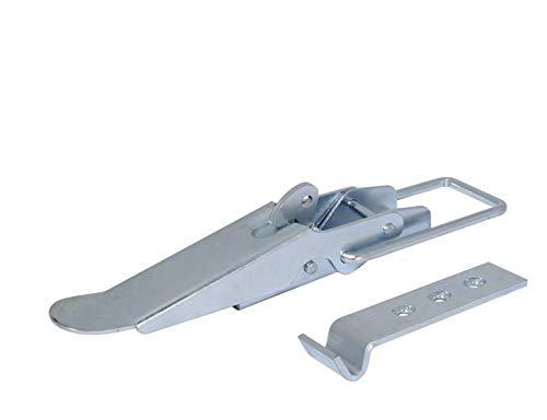 Fahrzeugbedarf Wilms 2X Exzenterverschluss mit Halter Bordwandverschluss p.f. Anhänger, LKW