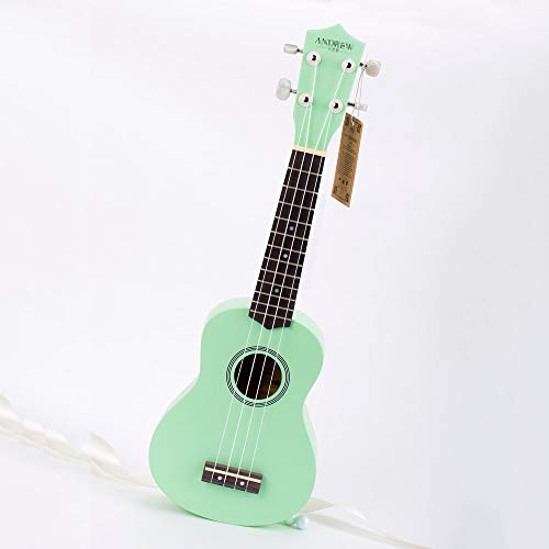 Mkulele The Fan Of The Iron Fan Princess Is Now A Small Guitar Of Mint Green, A Ukulele Instrument 23 inch