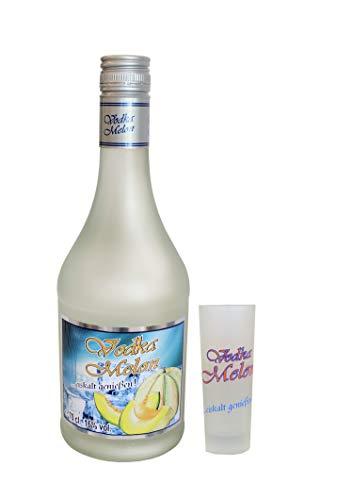 Vodka Melon 0,7Liter 16% vol. 12 Fl. mit 12 Gläser