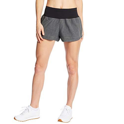 C9 Champion Women's 3.5' Knit Premium Running Shorts, Echo Gray Heather, S
