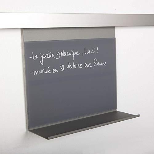 SOTECH Linero MosaiQ Memoboard 300 voor keukenreling grafietzwart