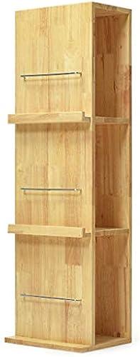 Bücherregal Massivholz, Utility Storage Organizer Regal, Blaume Stand Dekor Anzeige Bodenst er, für Schlafzimmer Wohnzimmer Studie