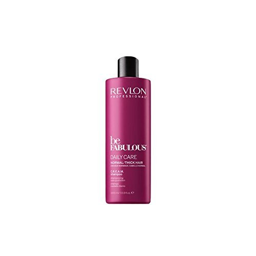 Revlon Professional Be Fabulous Daily Care Normal/Thick Hair C.R.E.A.M. Shampoo, 1er Pack (1 x 1000 ml)