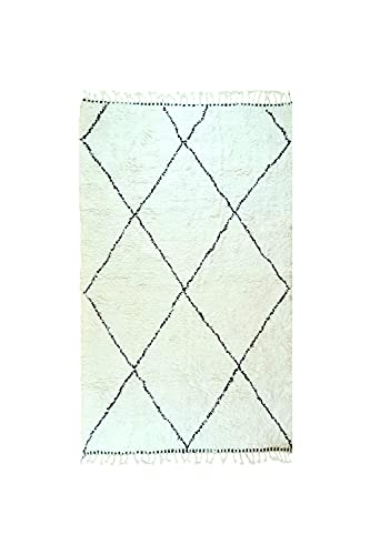 Beni Ourain - Alfombra original marroquí Berber (300 x 200 cm), tejida...