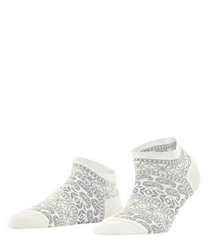 FALKE Damen Cultural Mix Sneakersocken, Weiss (Offwhite 2040), 41-42