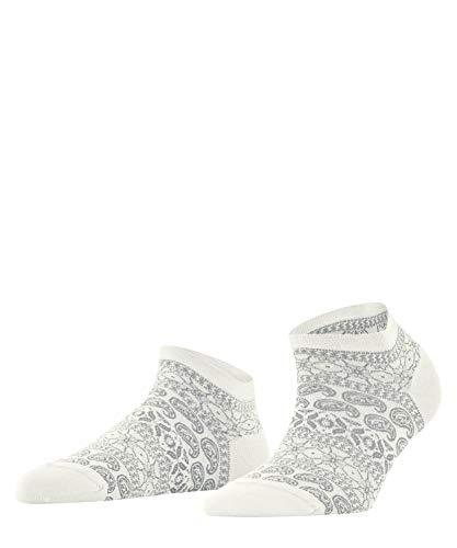 FALKE Damen Cultural Mix Sneakersocken, Weiss (Offwhite 2040), 39-40