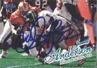Brett Favre Atlanta Falcons NFL Hand Signed 8x10 Photograph Rookie Season