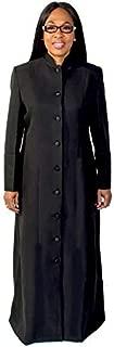 Mercy Robes Ladies Robe LR111 (Black/Black)