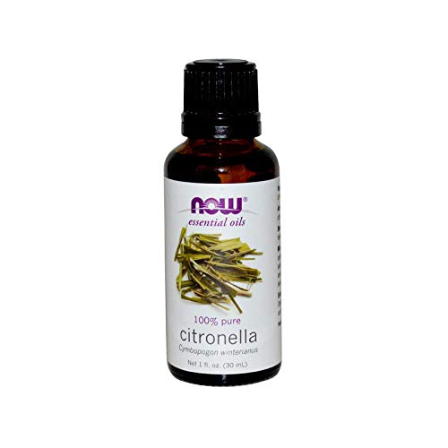 NOW Essential Oils, Citronella Oil, Freshening Aromatherapy Scent,...