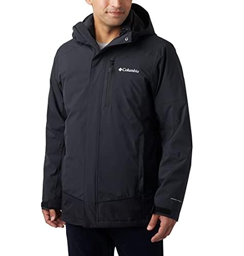 Columbia Męska kurtka Lhotse Iii 3-w-1 z wyjmowaną podszewką czarny czarny XL