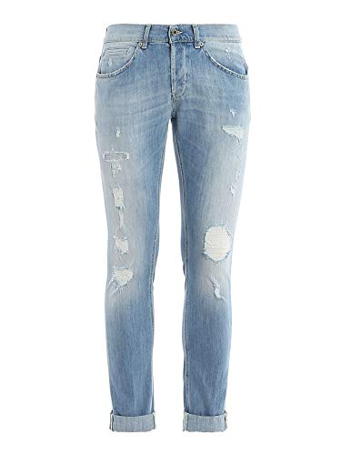 Dondup Luxury Fashion Herren UP232DS0107AA8800 Blau Jeans |