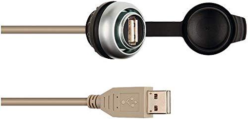 MSDD inbouwdoos USB 3.0 BF A, 2.0 m kabelverlenging