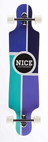 Nice Metro Longboard Mixte Adulte, Multicolore, 9,25\