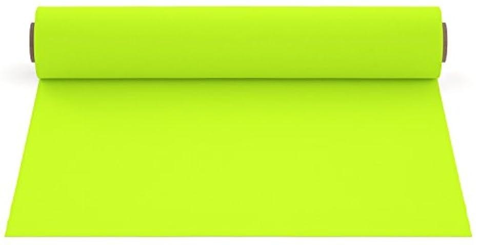 Firefly Craft Neon Yellow Heat Transfer Vinyl | Fluorescent Yellow HTV Vinyl | Bright Yellow Iron On Vinyl for Cricut and Silhouette | Heat Press Vinyl for Shirts - 12