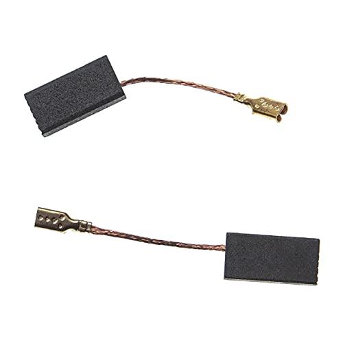 vhbw 2x escobilla carbono motor carbones 15,5 x 8 x 5 mm compatible con Bosch GWS 6-115 (0 601 375 095) herramientas eléctricas