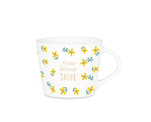 Grafik Werkstatt Espresso-Tasse mit Echtgold | Porzellan Tasse | 50 ml | Anti-Stress Tasse