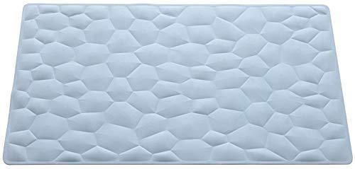 FERIDRAS Diamanti Tappeto Antiscivolo, Gomma, Azzurro, 3x20x51 cm