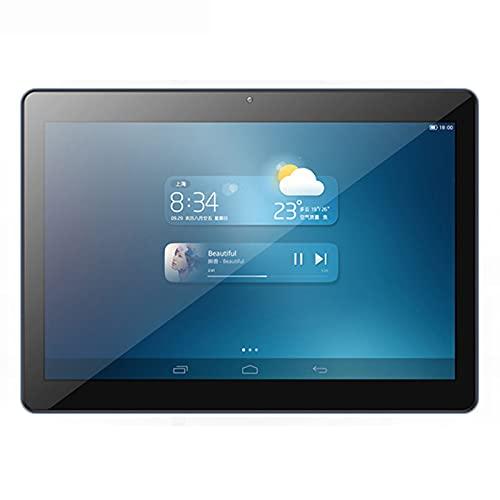 HTYQ 4G Call Ultra Thin HD Tablet, 10.1 Pulgadas IPS Full Screen NFC GPS WiFi Smart Tablet, 5MP + 2MP Cámaras Duales 2G + 32G Memoria 6000Mah Batería Máquina De Aprendizaje