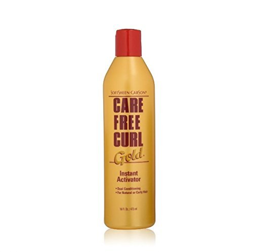 SoftSheen-Carson Care Free Curl Gold, Instant Activator 16 oz (Pack of 2)