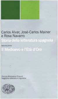 Storia della letteratura spagnola: 1