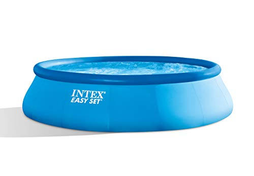 INTEX Kit Piscine Easy Set 28142GN Bleu 396 x 396 x 84 cm 7 290 L