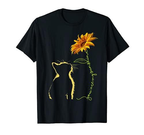 Cat You Are My Sunshine T-Shirt Cats Tee Shirt Gifts T-Shirt
