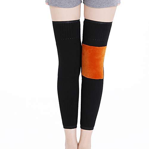 TLMYDD Wol Kniebeschermers Warme Dames Oudere Koude Benen Winter Dikke Lange Sectie Leggings Sokken Gezamenlijke Gezamenlijke Koude Ontsteking Oude Man Kneepad