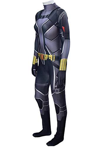 NVHAIM 3D Avengers Body Widow Body, Movie Adult Stretch Body Halloween Halloween Cosplay Disfraz Fancy Vestidos Onesies Niños Stealth Traje,Women M