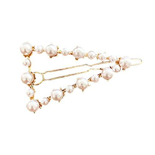 Haarnadeln/Dorical Damen Haarspange Süße mit Perlen Haarklammer Haarspiralen Braut Hochzeit Haarschmuck Accessoires/Geburtstags Geschenk Haarschmuck für Mama Frauen Mädchen(E)