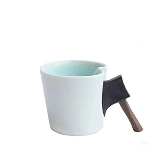 Mokken Mok Koffiekop Bijl Handvat Keramische kop